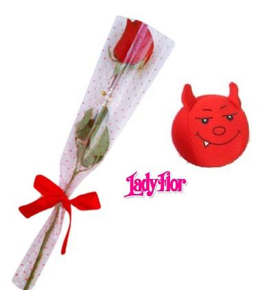 Rosa Roja y Diablillo